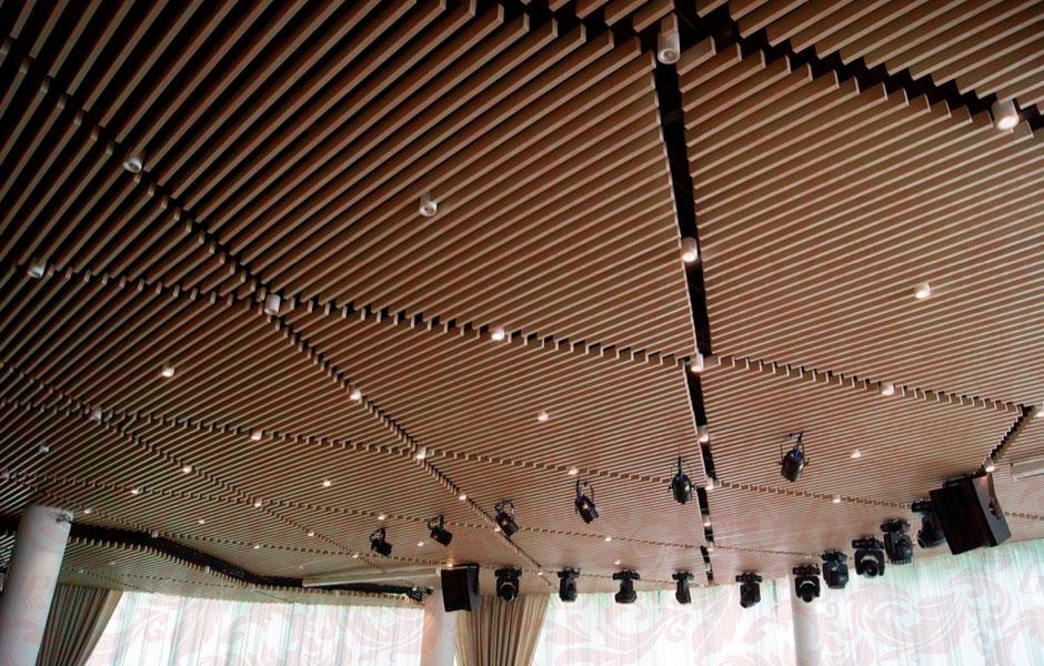 Кубообразные потолки – одни из самых красивых видов потолочной отделки