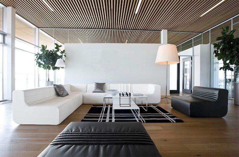 Реечный потолок в квартире